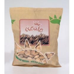 Almendra marcona repelada ecológica frita con sal - ecoato - Bolsa 250 gr