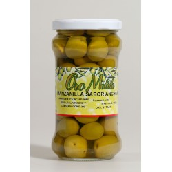 Aceituna manzanilla - Oro molido - Tarro vidrio 160 gr