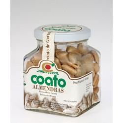 Almendra comuna repelada frita con sal - Coato - Tarro vidrio 0,150 gr