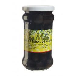 Aceituna negra cuquillo - Oro molido - Tarro vidrio 160 gr