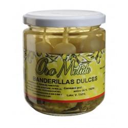 Banderillas dulces - Oro molido - Tarro vidrio 160 gr