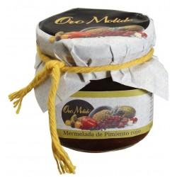 Mermelada de pimiento rojo - Oro molido - Tarro vidrio 210 gr