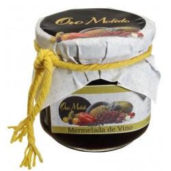 Mermelada vino - Oro molido - Tarro vidrio 210 gr