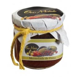 Mermelada de fresa - Oro molido - Tarro vidrio 210 gr