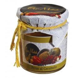 Peras al caramelo - Oro molido - Tarro vidrio 250 g