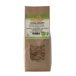 Lenteja castellana ecológica - ecoato - bolsa papel 500 gr