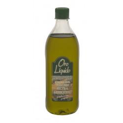 Aceite arbequino virgen extra - Oro liquido - Botella pet cuadrada 1l