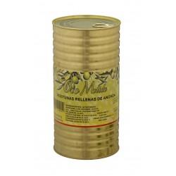 Aceitunas rellenas - Oro molido - Lata 600 gr. 161/180 uds