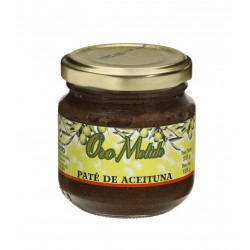 Pate de aceituna - Oro molido - Tarro vidrio 125 gr