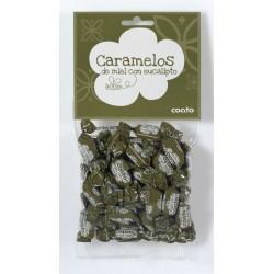 Caramelos de miel con eucalipto - Coato - Bolsa 150 gr