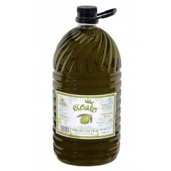 Aceite virgen extra ecológico - ecoato - Botella pet 5 l