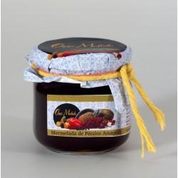 Mermelada de petalos de amapola - Oro molido - Tarro vidrio 210 gr