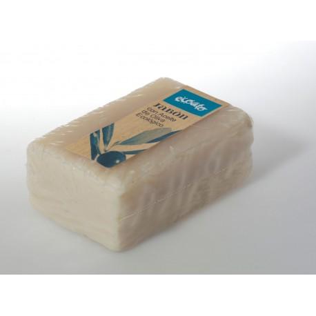 Jabón con aceite de oliva ecológica - ecoato - Pastilla 150 gr