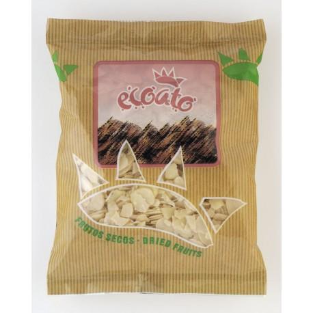 Laminas de almendra ecológica - ecoato - Bolsa 250 gr