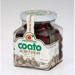 Almendra comuna piel frita con sal - Coato - Tarro vidrio 0,150 gr