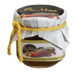 Mermelada de higo chumbo - Oro molido - Tarro vidrio 210 gr