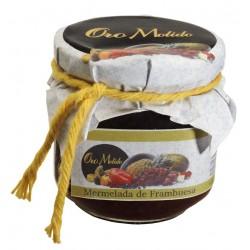 Mermelada de frambuesa - Oro molido - Tarro vidrio 210 gr