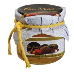 Mermelada de petalos de jazmin - Oro molido - Tarro vidrio 210 gr