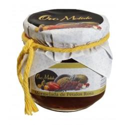 Mermelada de petalos de rosa - Oro molido - Tarro vidrio 210 gr
