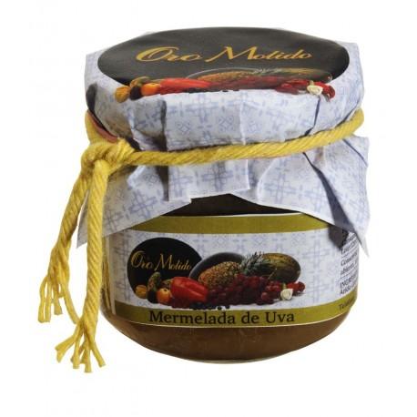 Mermelada de uva - Oro molido - Tarro vidrio 210 gr
