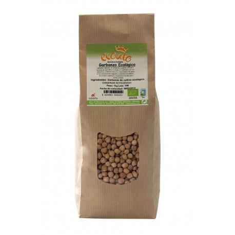 Garbanzo ecológico - ecoato - bolsa papel 1 kg