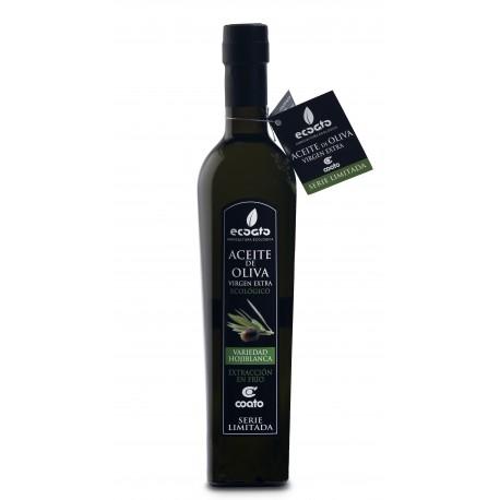 Aceite de Oliva Virgen Extra Ecológico - ECOATO. Edición Limitada. Variedad  Hojiblanca.  500 ml.