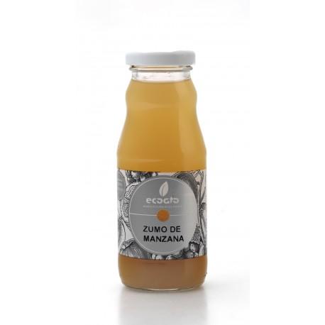 Zumo de manzana ecológico - Oro molido - Botella de vidrio 200 cl