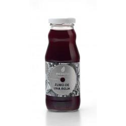 Zumo de uva roja eco  - Oro molido - Botella de vidrio 200 cl