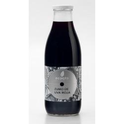 Zumo de uva roja eco  - Oro molido - Botella de vidrio 1 l