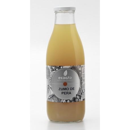Zumo de pera ecológico  - Oro molido - Botella de vidrio 1 l
