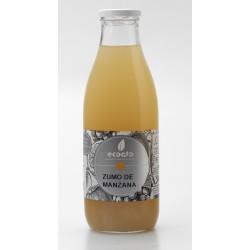 Zumo de de manzana ecológico - Oro molido - Botella de vidrio 1 l