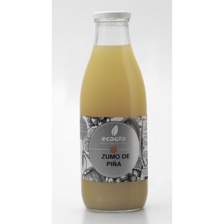 Zumo de piña ecológico  - Oro molido - Botella de vidrio 1 l