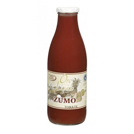Zumo de tomate ecológico - Oro molido - Botella de vidrio 1 l