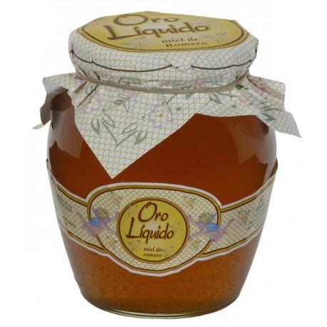 Miel de romero - Oro liquido - Anfora vidrio 970 gr