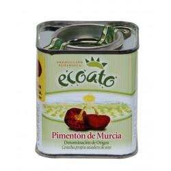Pimentón ecológico d.o. Región de Murcia - Lata 75 gr